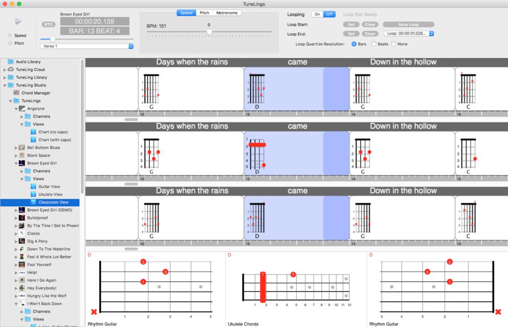 three instrument charts horizontal